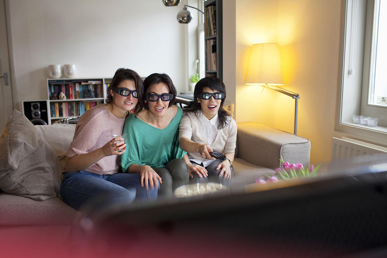 como ver la tele en 3D