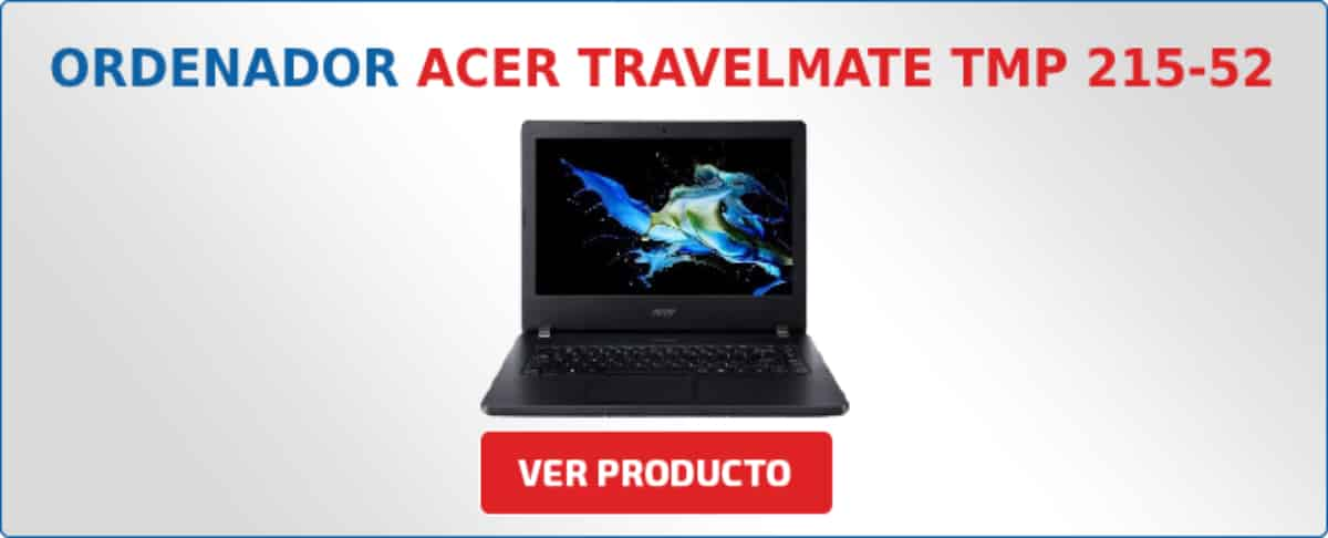 ordenador portatil Acer TravelMate TMP 215-52