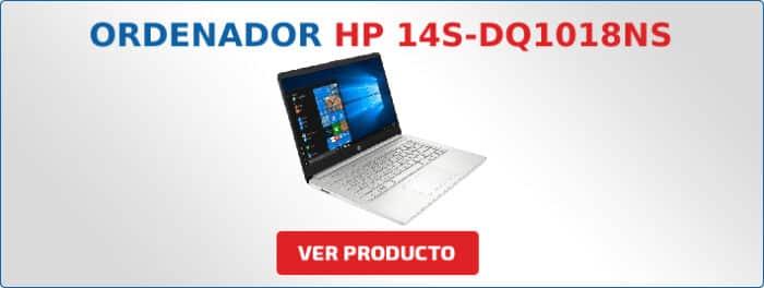 ordenador portatil HP 14S-DQ1018NS