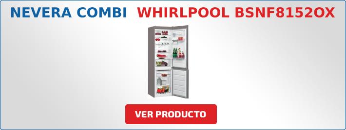 nevera combi Whirlpool
