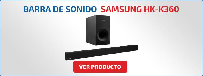 barra de sonido con radio samsung