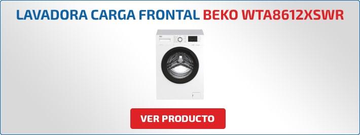 lavadora carga frontal Beko WTA8612XSWR