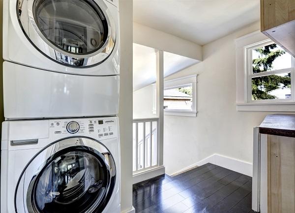 secadora encima de lavadora