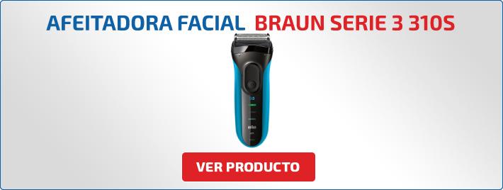 como afeitar con maquina Braun