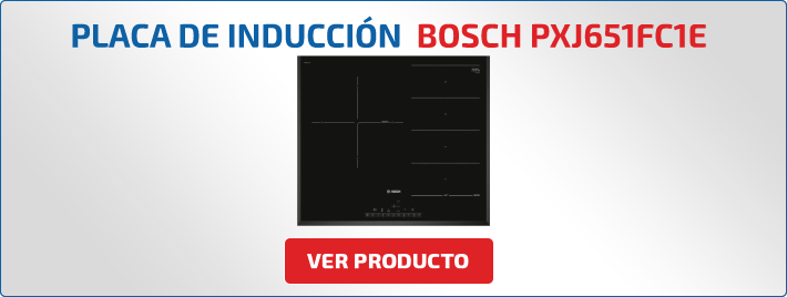 placa de induccion bosch