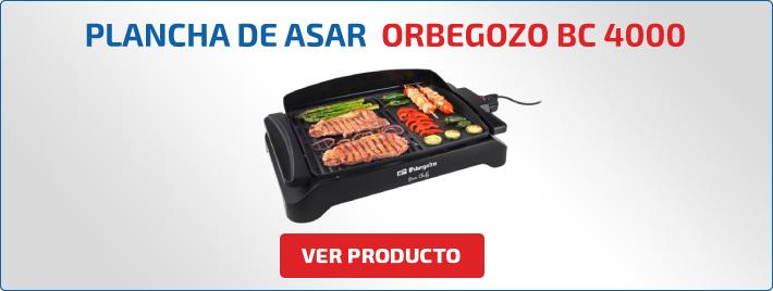 plancha de asar Orbegozo bc 4000