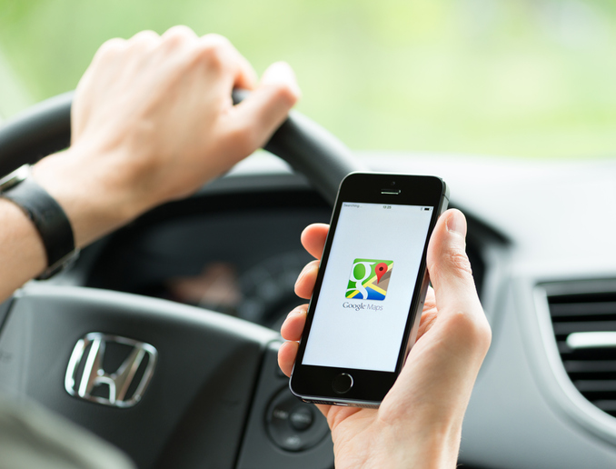 Usar Google Maps para llegar a tu destino