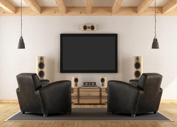 conectar equipo de música a tv