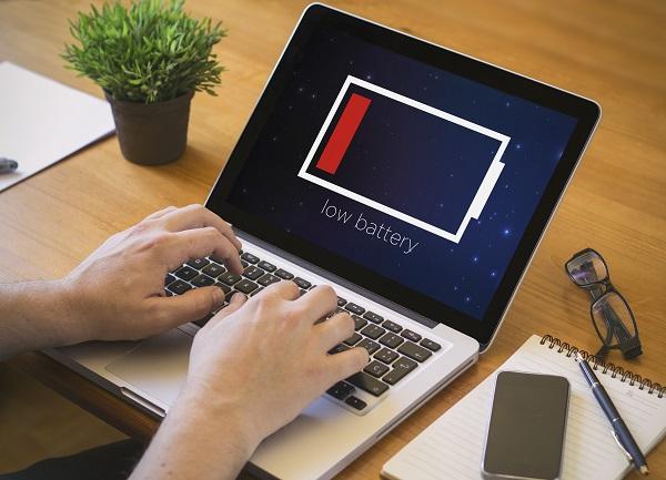 bateria del ordenador portatil