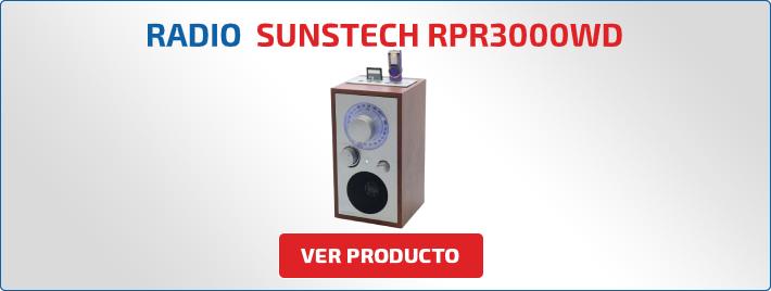 radio Sunstech RPR3000WD
