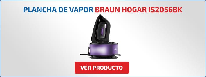 plancha de vapor Braun Hogar IS2056BK