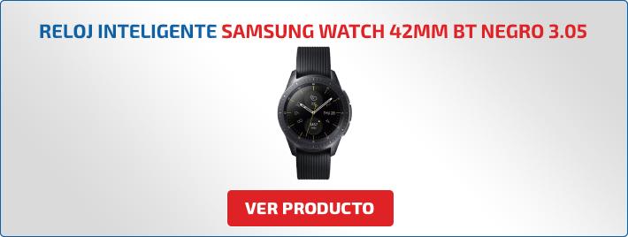 reloj inteligente Samsung Watch 42mm BT Negro 3