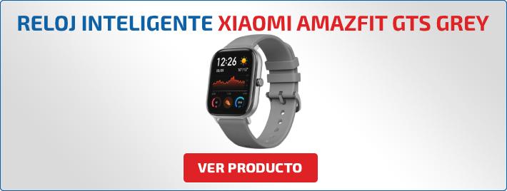 reloj inteligente Xiaomi AMAZFIT GTS GREY