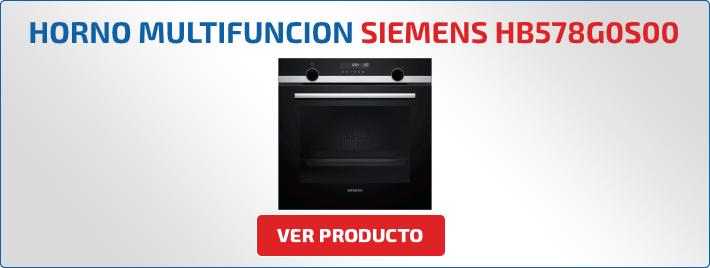 horno multifuncion Siemens HB578G0S00