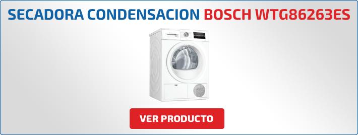secadora condensacion Bosch WTG86263ES