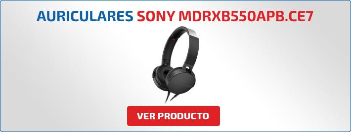 auriculares Sony MDRXB550APB.CE7