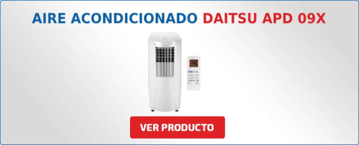 aire acondicionado Daitsu APD 09X