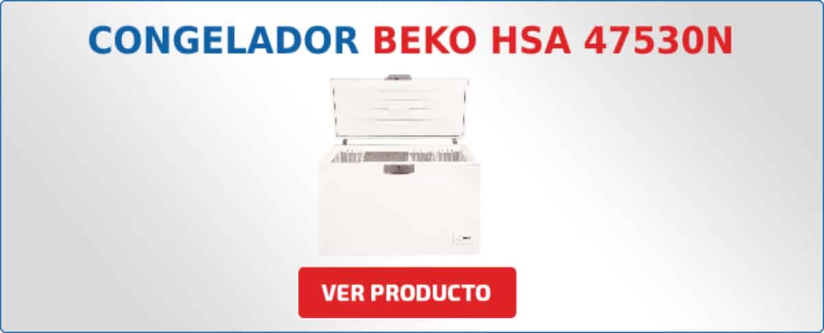 congelador horizontal Beko HSA 47530N