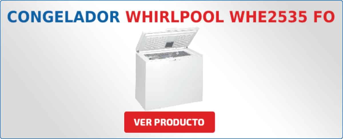 congelador horizontal Whirlpool WHE2535 FO