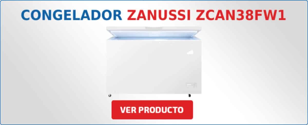 congelador horizontal Zanussi ZCAN38FW1