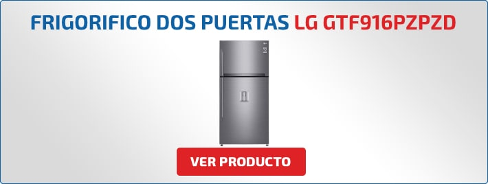 frigorifico dos puertas LG GTF916PZPZD