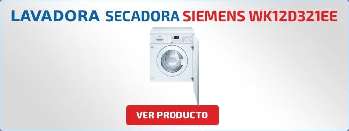 lavadora secadora Siemens WK12D321EE