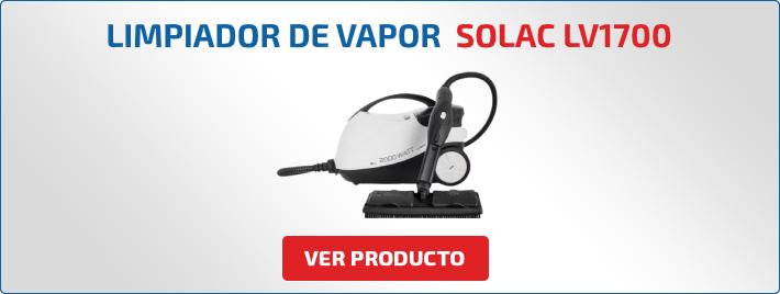 limpiador de vapor SOLAC LV1700