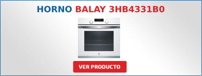 horno multifuncion Balay 3HB4331B0
