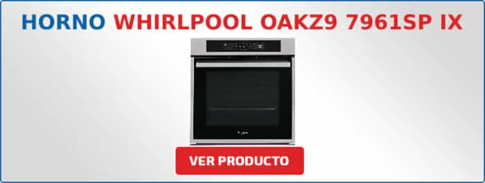 horno multifuncion Whirlpool OAKZ9 7961SP IX
