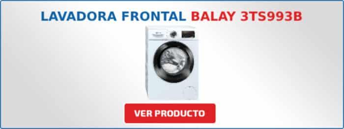 lavadora carga frontal balay 3TS993B