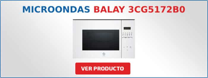 microondas Balay 3CG5172B0