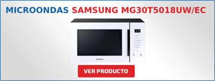 microondas Samsung MG30T5018UW/EC