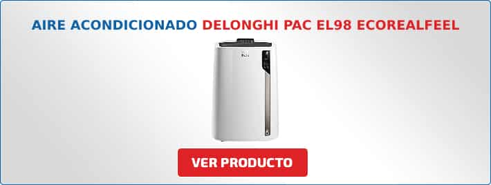 aire acondicionado portatil DeLonghi PAC EL98 ECOREALFEEL