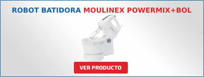 batidora amasadora Moulinex Powermix+Bol