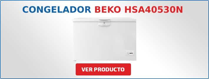 congelador horizontal BEKO HSA40530N