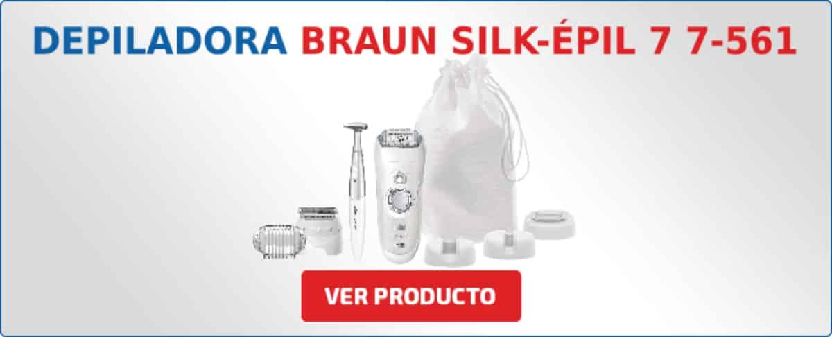 depiladora Braun Silk-épil 7 7-561