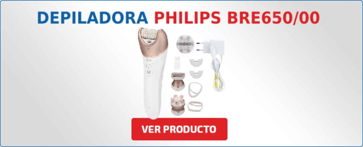 depiladora Philips BRE65000