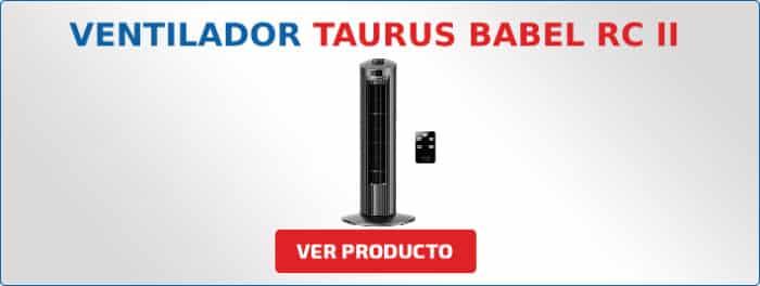 ventilador Taurus BABEL RC II