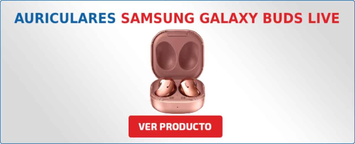 auriculares samsung galaxy buds live