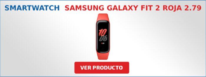 Samsung Galaxy Fit 2 Roja 2.79