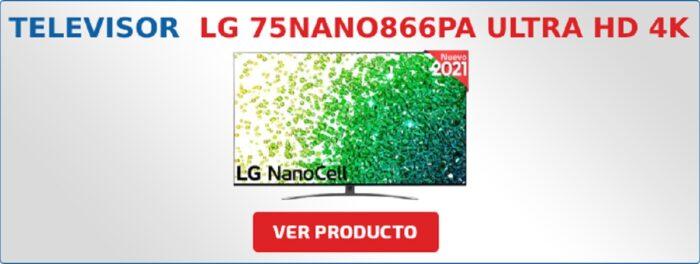 LG 75NANO866PA Ultra HD 4K