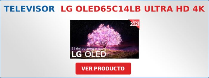 LG OLED65C14LB Ultra HD 4K